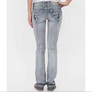 Rock Revival Distressed Jacklyn Jeans